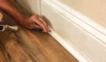 How to Install Quarter Round without A Nail Gun
