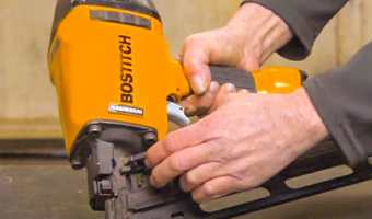 How to Load a Bostitch Finish Nailer