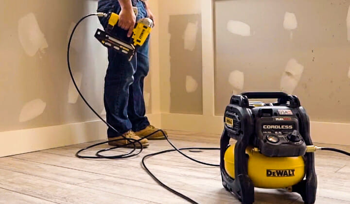 best air compressor for roofing nailer