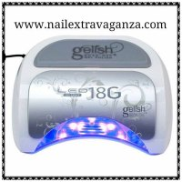 Harmony Gelish 18-G LED Light 18g Professional Gel Nail ...