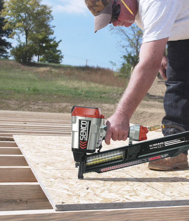 Hardwood Floor Air Nail Gun