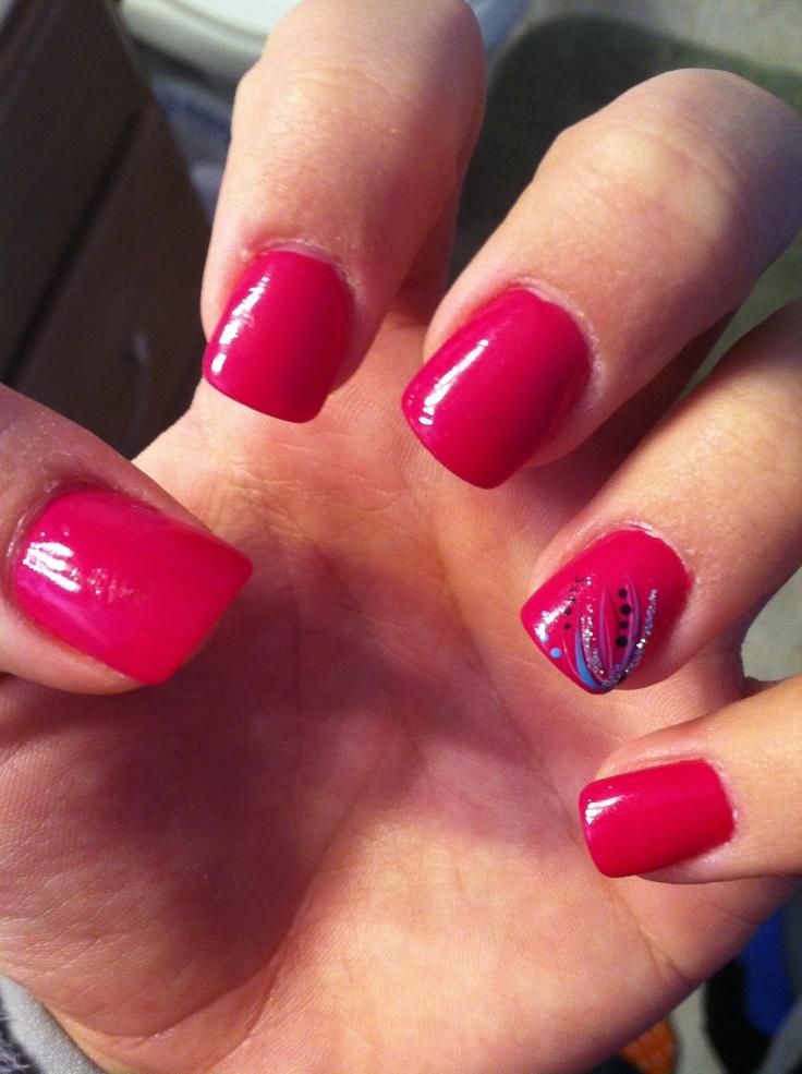 Acrylic nail art  NAILKART.com