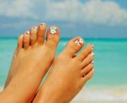 nail art beautiful feet