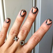 simple and easy nail art design