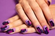 simple beautiful nail art design