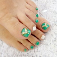 Simple nail art designs for beautiful feet  NAILKART.com