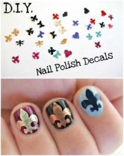 beautiful diy nail polishes page