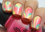 water marble nail art home