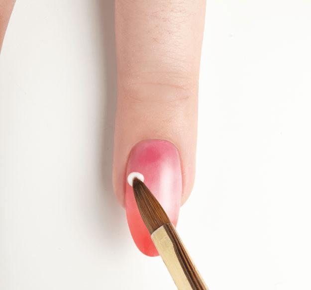 Beautiful 3d Acrylic Flower Nail Art