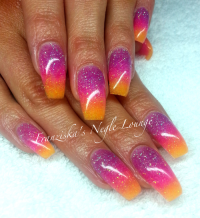 Nail Art Tutorial, Nail Designs, Nail Art How To, Ombre Nails
