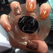 nail art design fall nails