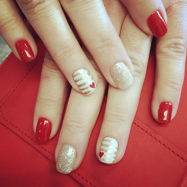 Nail Art Designs Trends Valentine S Day Nails