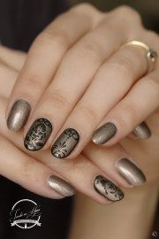 nature nails art