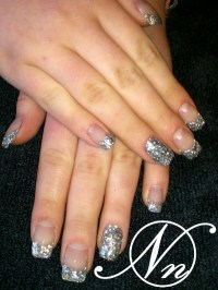 Acrylic & Gel Nail Art Gallery pictures - Crushed Shell ...