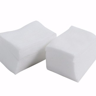 Brush cleansing pads
