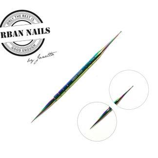 Rainbow needle mini Urban Nails