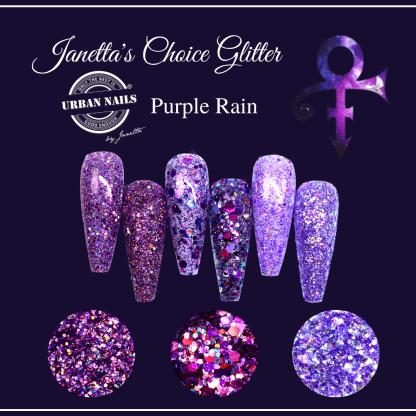 Purple Rain Limited Glitter Kollektion