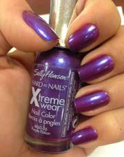 purple nail polish colors names
