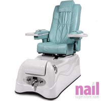 Lexor - Vista Pipeless Pedicure Foot Spa Chair with Roller ...