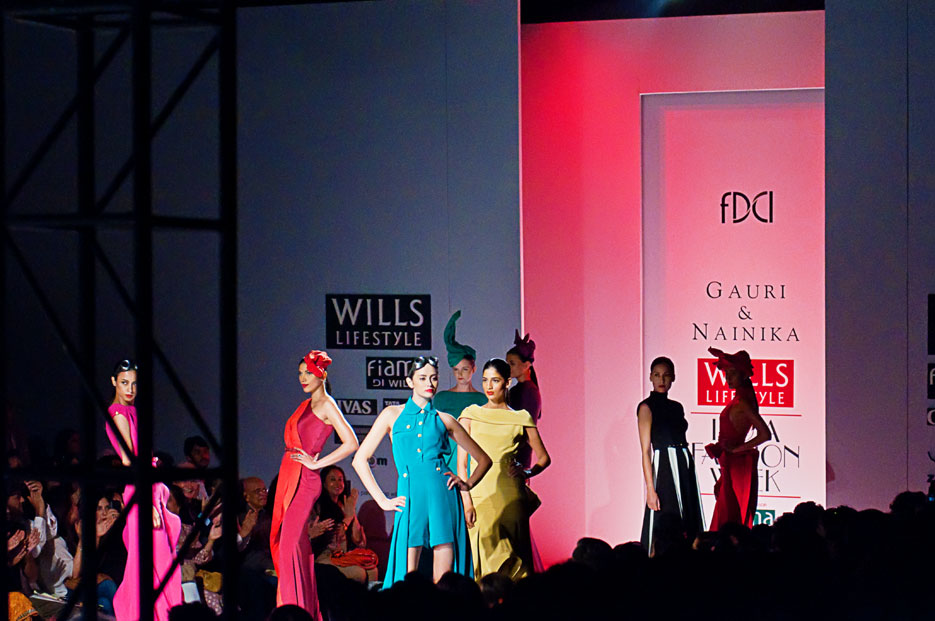 Wills Lifestyle India Fashion Week, Spring Summer 2012, photographed by Indian fashion photographer and fashion blogger Naina
