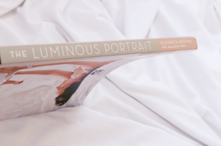 The Luminous Portrait by Elizabeth Messina with Jacqueline Tobin. Photography Book Review. Photography by professional Indian lifestyle photographer Naina Redhu of Naina.co
