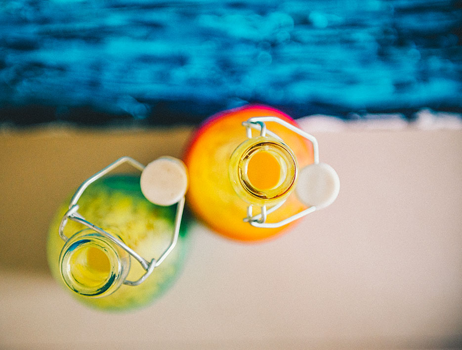 Mango White Wine Sangria. Food, Beverage & Lifestyle Photography by professional photographer Naina Redhu