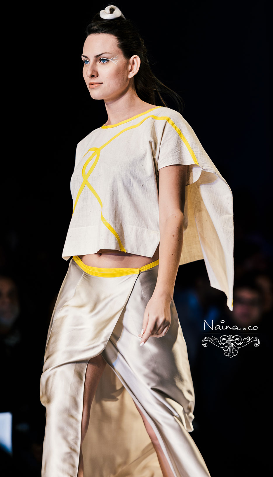 Wills Lifestyle India Fashion Week, Spring Summer 2013. Wendell Rodricks by photographer Naina Redhu of Naina.co