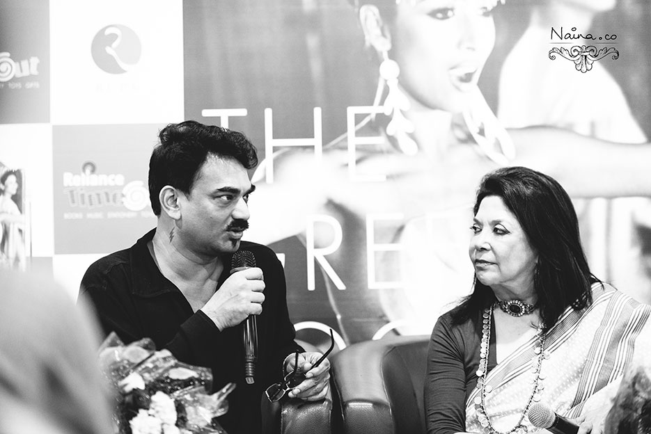 The Green Room by Wendell Rodricks. Book Launch by Rupa Publications photographed by photographer Naina Redhu of Naina.co