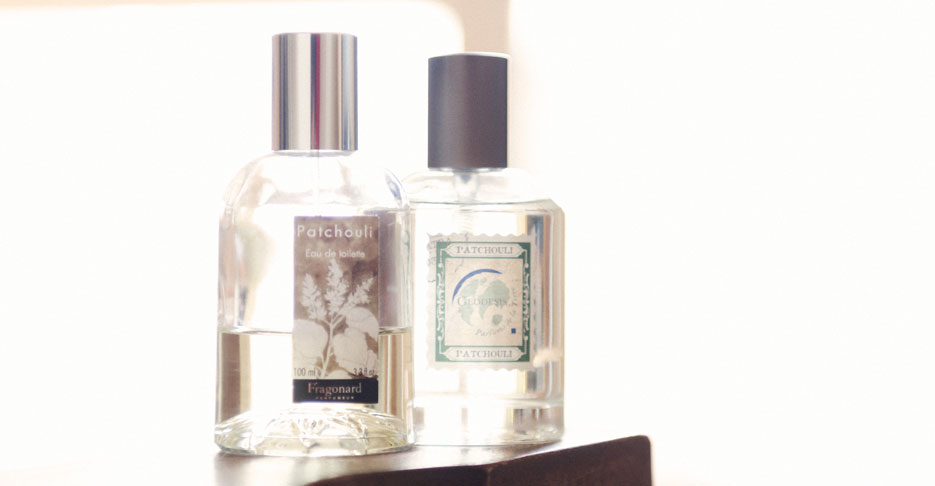 Patchouli fragrances by Geodesis and Fragonard. Photography by professional Indian lifestyle photographer Naina Redhu of Naina.co