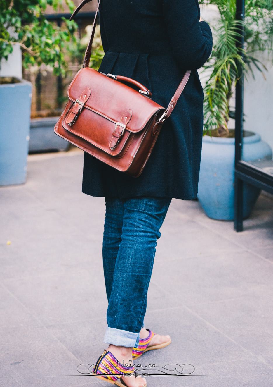 ONA Bags, Brooklyn Satchel Camera Bag, photographed by Lifestyle photographer, blogger Naina Redhu of Naina.co