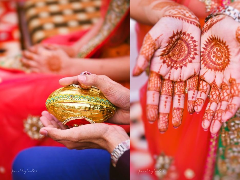 Indian wedding photographer : photography by Naina | Roka Ceremony of Megha and Jatin