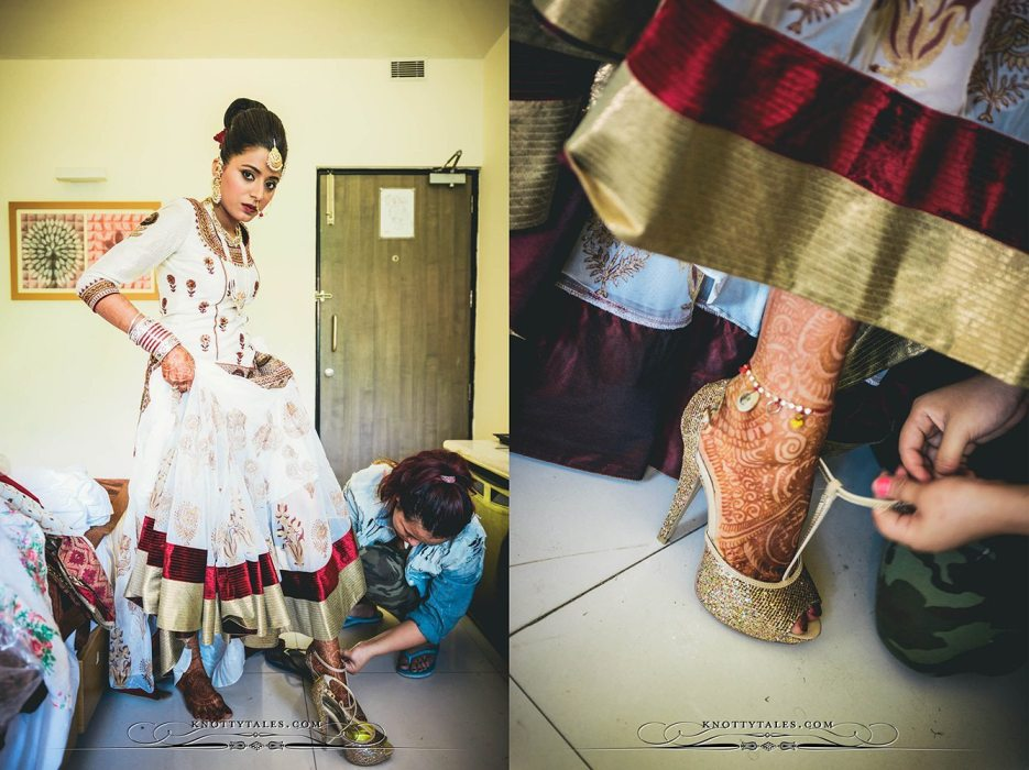 Jeevan Saify Wedding Photography Bride Getting Ready Make up Lehenga Knottytales Naina.co Lifestyle Luxury