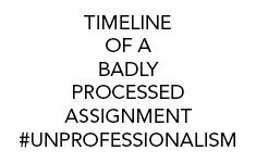 Timeline-Of-A-Badly-Processed-Assignment-Unprofessionalism