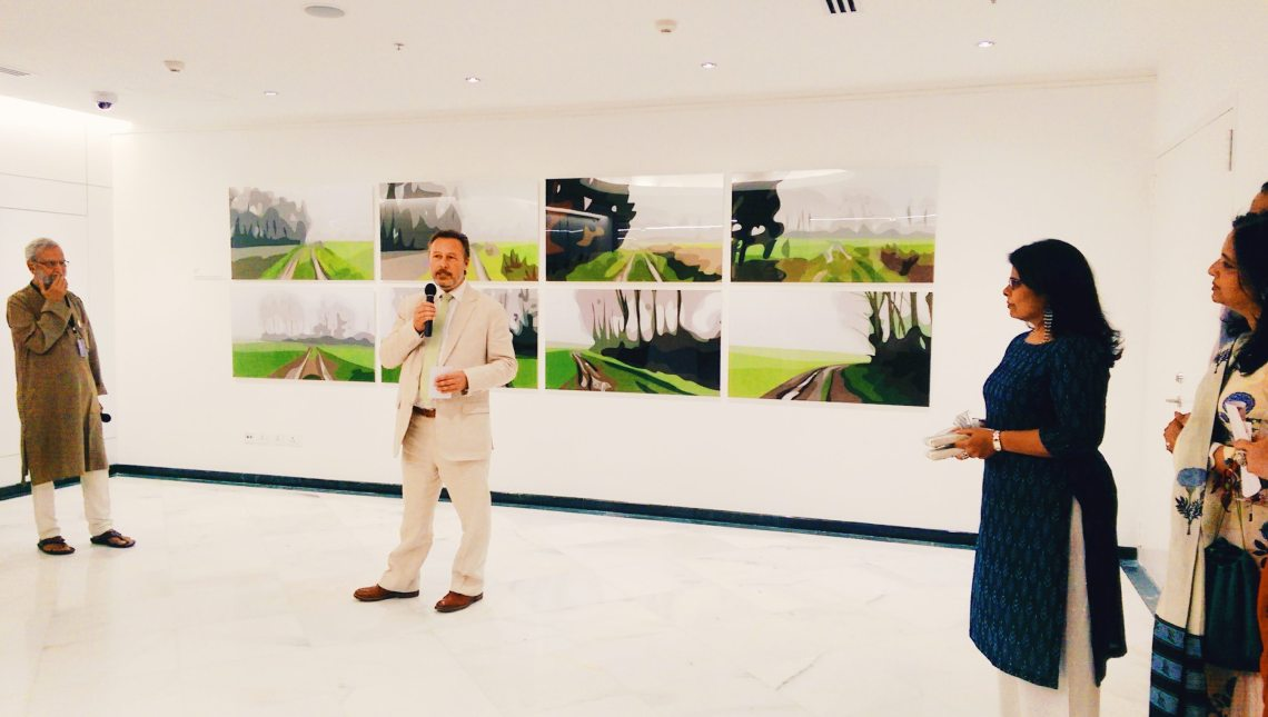 Julian Opie Exhibition, British Council India, Food by CAARA, Naina.co Luxury & Lifestyle, Photographer Storyteller, Blogger.