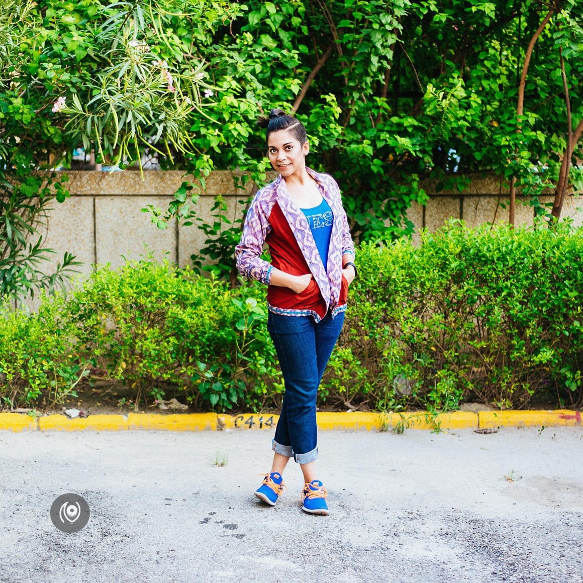 #CoverUp 45, Meraki Bomber Jacket Ikat, Nike, Korra, Pearls, Naina.co Luxury & Lifestyle, Photographer Storyteller, Blogger.