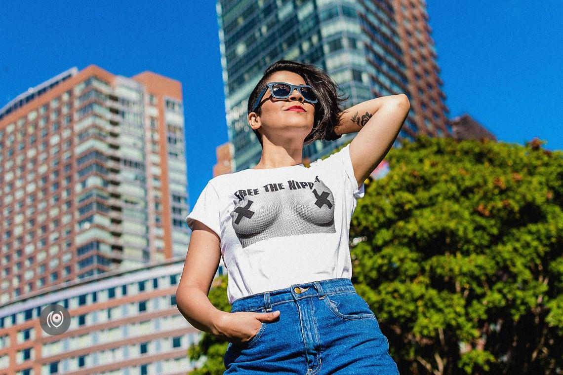 FreeTheNipple at Battery Park #CoverUp 54 #EyesForNewYork #REDHUxNYC Naina.co Luxury & Lifestyle, Photographer Storyteller, Blogger