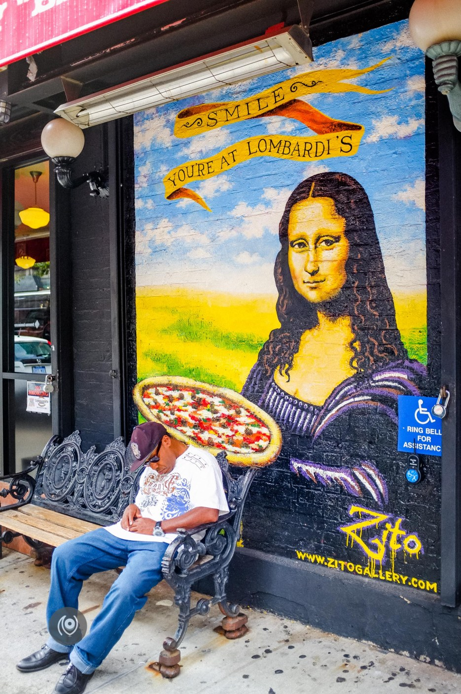 Lombardi's Pizza #EyesForDining #EyesForNewYork #REDHUxNYC Naina.co Luxury & Lifestyle, Photographer Storyteller, Blogger
