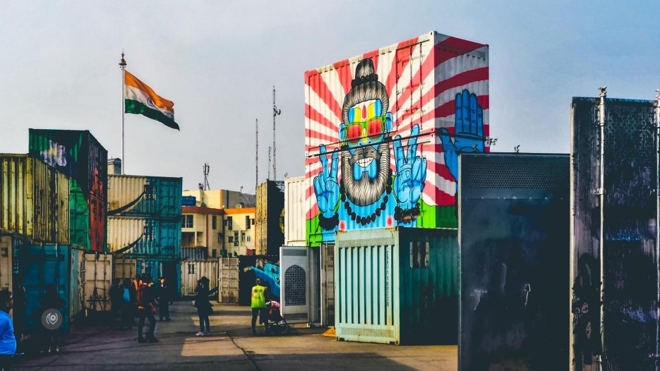 st+art, Street Art Festival, #WIPSHOW, Iternational Container Depot, Tughlakabad, Naina.co, Naina Redhu, Luxury Photographer, Lifestyle Photographer, Luxury Blogger, Lifestyle Blogger, Experience Collector