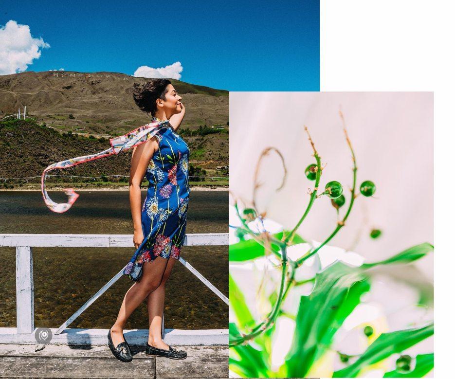#CoverUp 73, #EyesForArunachal, Naina.co, Luxury Photographer, Lifestyle Photographer, Travel Photographer, Fashion Photographer, Naina Redhu, #EyesForDestinations, #EyesForIndia, Destination Photographer, India, Arunachal Pradesh, Menchukha, Experience Collector, Photo Story, Visual Experience Collector, #CoverUp, PostFold, Emilio Pucci, Yargap Chu, River Front, River Deck, Wood, Flower Print Dress, PostFold Dress, Pucci Scarf