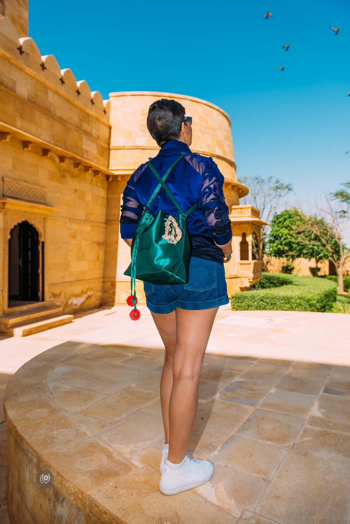 Experience Collector, Lifestyle, Lifestyle Blogger, Lifestyle Blogger India, Lifestyle Photographer India, Luxury Blogger, Luxury Blogger India, Luxury Brands, Luxury Photographer, Luxury Photographer India, Naina Redhu, Naina.co, Professional Photographer, Visual Storyteller, Visual Storyteller for Luxury Brands, Influencer, Luxury Influencer, Lifestyle Influencer, Photography Influencer, Brand Storyteller, Visual Storyteller, India, #EyesForIndia, #EyesForRajasthan, Rajasthan, #EyesForDestinations, Travel, Travel Photographer, Travel Blogger, Jaisalmer, Suryagarh, #NAINAxRayBan, #NAINAxPureGheeDesigns, #NAINAxPureGhee, #NAINAxSuryagarh, Mashru Silk, IX by Kartikeya, #CoverUp, Bucket Bag, Textile Flowers Gajra, Gatsby II, Gatsby 2 Sunglasses, Sunglasses by Ray-Ban, Ray-Ban