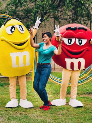 Naina Redhu, Naina.co, M&M's, MandMs, MandM, MnnMsInIndia, Red, Yellow, Chocolate, Mars, In India, Product Launch, Goodie Box, Welcome to India, Irresistible, Product Photographer, Lifestyle Photographer, Luxury Photographer, Blogger