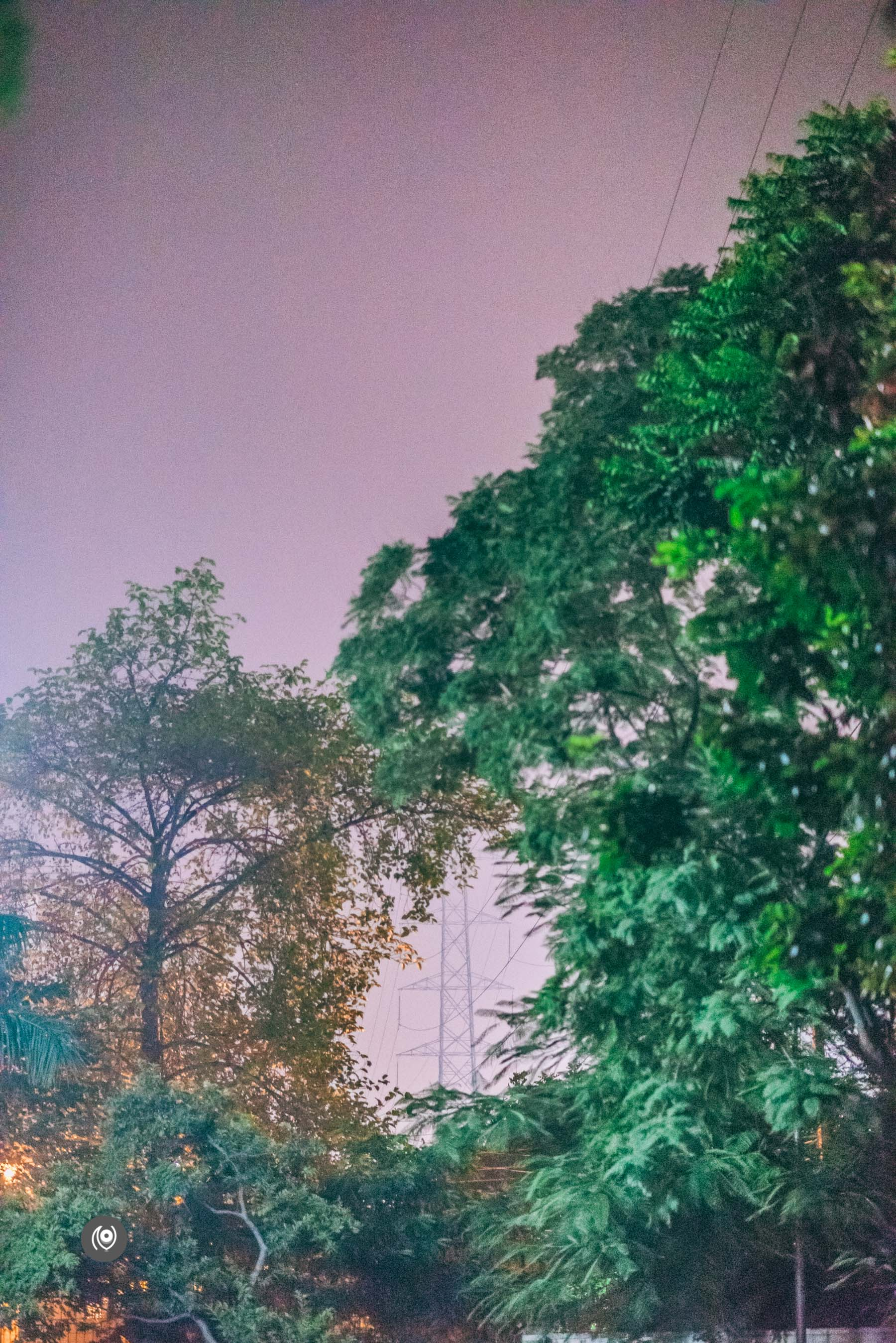 Naina.co, Naina Redhu, Luxury Blogger, Luxury Photographer, Lifestyle Photographer, Lifestyle Blogger, EyesForIndia, EyesForGurgaon, EyesForGurugram, Walking, Evening, Night, Stars, Trees, Walk at night, Night Photography, Night Photographer, Power, Electricity, Roads,