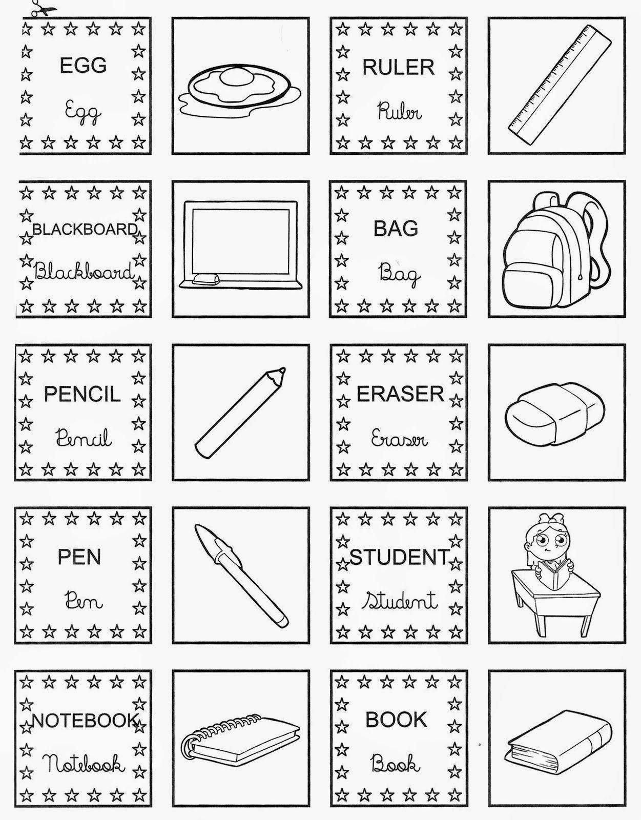 Atividades Para Aprender Ingles Com Imagens