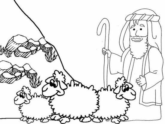 Desenhos Bíblicos para Colorir personagens bíblicos