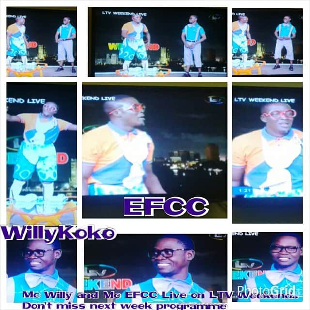 Mc EFCC at LTV8