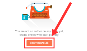 How to Create a blogger on blogger