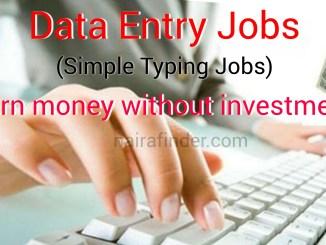 top 10 data entry jobs
