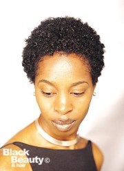 hair short natural weave