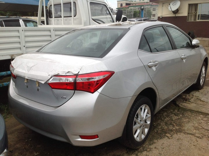 brand new toyota camry price in nigeria harga mobil all kijang innova 2017 2015 corolla le for sale autos power windows and door locks 60 40 split fold down rear seats adjustable colour keyed heated mirrors led headlamps s star safety system