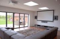 Install a Projector and Big Screen in your Living room to ...